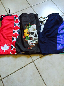 Men's size small bathing suits