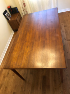 Teak table ONLY $849  - Dixie and Dundas in Mississauga