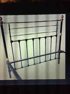 Antique Cast Iron Bed Frame Cornwall Ontario image 2