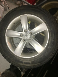 "SpringSaleSanta Fe 18"" rims & new winter tires 235 60 18 REDUCED"
