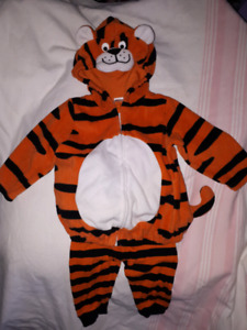 Tiger Carter's Halloween Costume Size 12mts