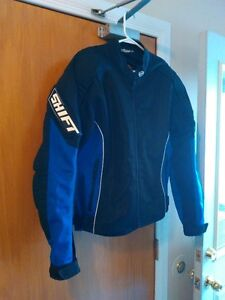 SHIFT MOTORCYCLE RIDING JACKET NEW SIZE L