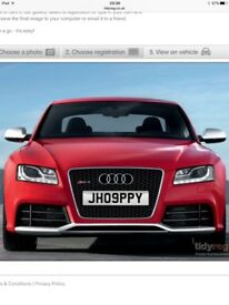 JH09PPY Personalised number plate