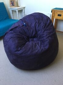 Beanbag that's also a double bed!