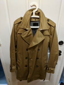 Men's Banana Republic Trench Coat - Medium - Camel