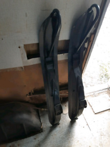 Pair of skidoo skis for sale
