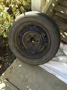 Nissan Ultima 2008 Rims and Tires