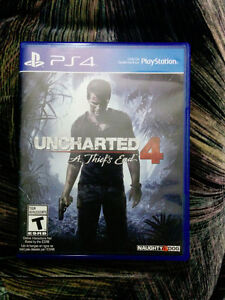 Uncharted 4 - A Thief's End (PS4)