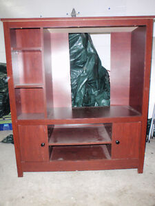 Entertainment unit in excellent condition.