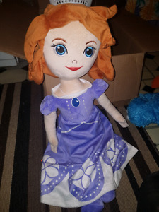 Sofia the First giant doll and throw blanket