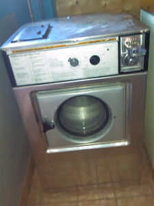 Coin Commercial Washer and Dryer