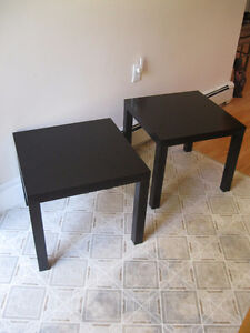 PRICE DROP 2 Beautiful End tables in excellent shape .