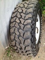 265/75/r16 tires on ford 1/2 ton rims