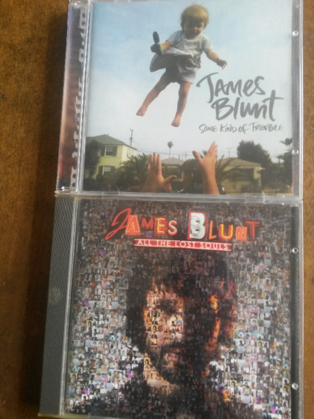 2 James Blunt CDs R140 negotiable for both