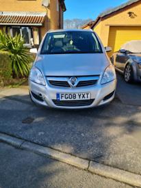 2008 Vauxhall zafira 1.8 mpv