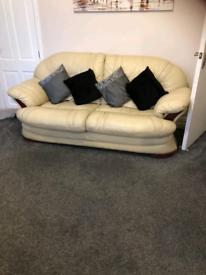 Sofa Italian Leather
