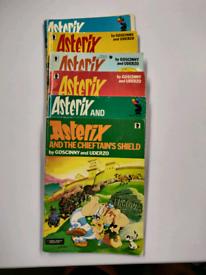 6 Astrix comics