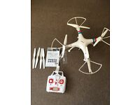 Syma 4 channel drone with camera compatible with iPhone/ android