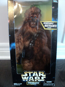 "Star Wars Chewbacca 12"" figure (FURRY) *NEW IN BOX*"