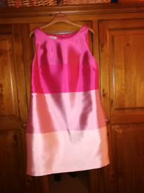 Monsoon pure silk mini dress size 14