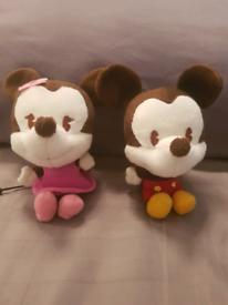 mickey and minnie curtain tie backs