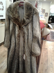 Great fur coat!