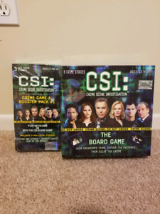 CSI Board Game with Booster Pack #+