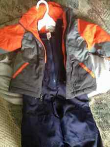 Boys clothing and stroller for sale.
