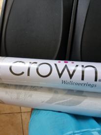Two rolls of crown wallpaper