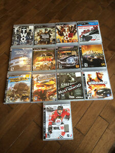 SONY PLAYSTATION 3 Games For Sale $5-$15!!!!!