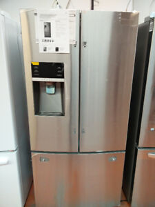 """33"""" LG + Samsung stainless steel french door open box sale!!"""