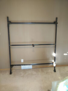 Queen size steel bed frame