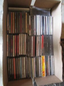 Box of CD - Mostly Classic Rock