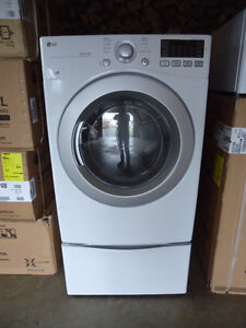 LG Dryer with Pedestal  Both  Brand New