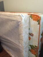 Double bed and box spring