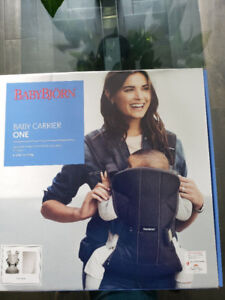 New sealed Baby Bjorn Baby Carrier One Air-Silver, Mesh