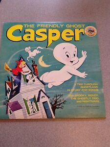 Casper the friendly ghost LP Record