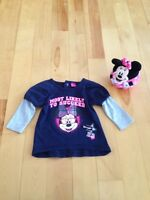 Mini Mouse sweater & Mini stuff toy