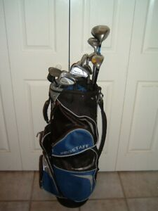 ADAMS TIGHT LIES CU10 14 PC RIGHT GOLF CLUB SET - $250 (TORONTO)