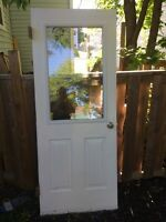 "Exterior door real decent 32""x80"""