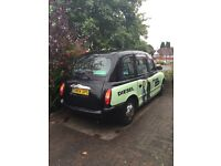 London taxi tx2 with new nissan engine
