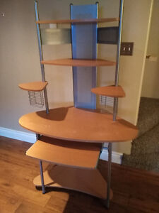 Up for Grabs:  Study and Computer Desk with Disk shelves