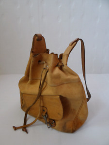 Women Brown Leather Bag.
