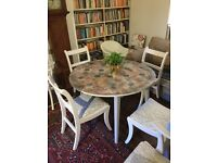 Vintage retro shabby chic kitchen table reduced today