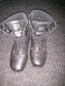 Sorel Steel Toe Safety Leather Winter Boots Size 10