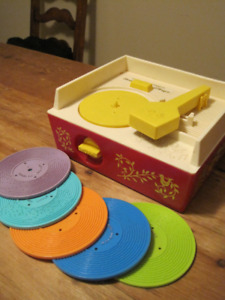 1971 Fisher Price #995 Record Player