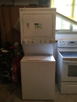 KENMORE stacking washer dryer