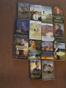 Variety of 14 Historical Christian Romance Books