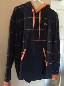Lacoste pullover sweater and polo dress shirt