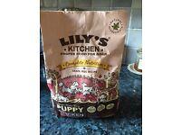 Lilys puppy dog food